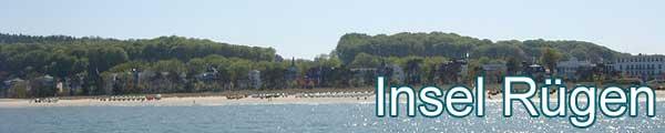 Ferienwohnunge auf der Insel Rügen