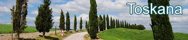 Ferienwohnungen in der Toskana in Italien